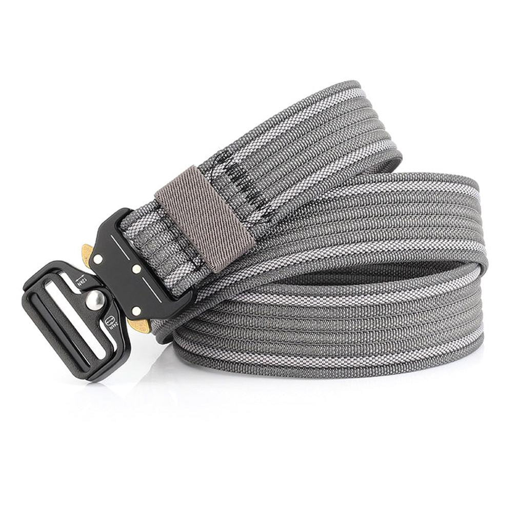 Red Heavy Duty Tactical Nylon Quick Release Metal Buckled Belt