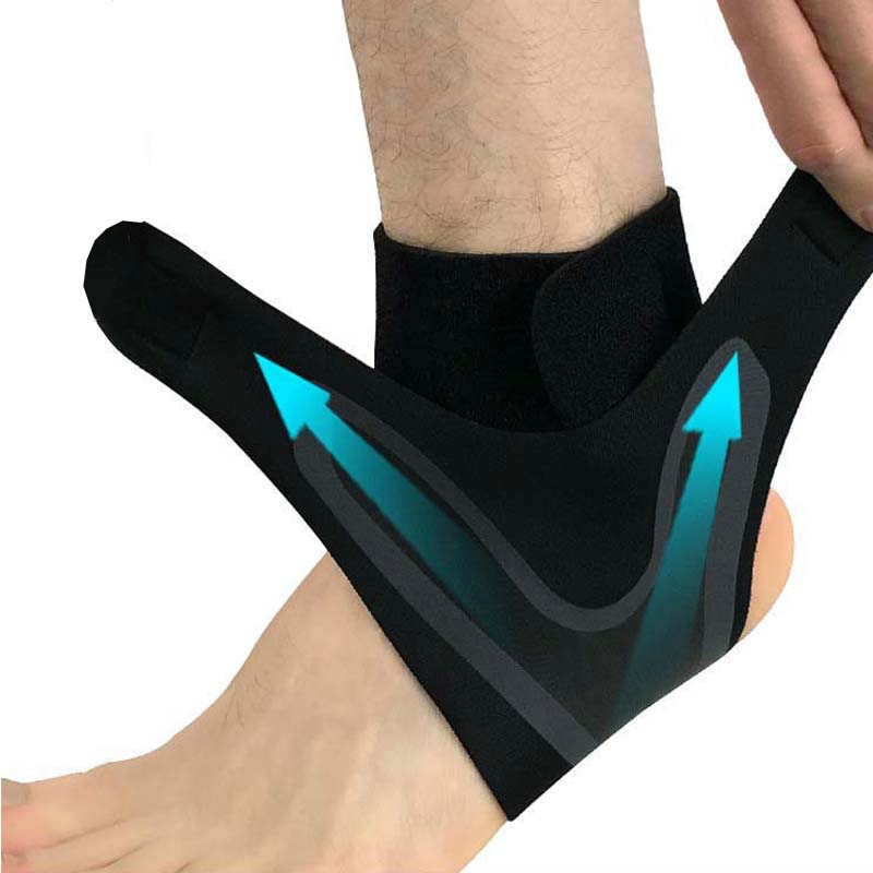 Adjustable Ankle Support Brace & Sprain Prevention