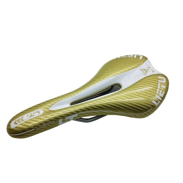 New Arrival Super Light Cycling Saddle 7 Colors Mtb Seat Cool Mountain Bike Road Bike Bicycle Saddle Riding Bike Parts