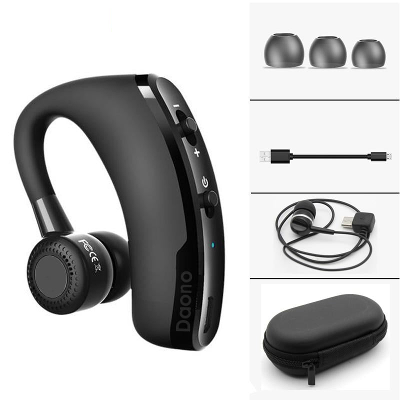 Handsfree Wireless V9 Bluetooth Headset with Mic