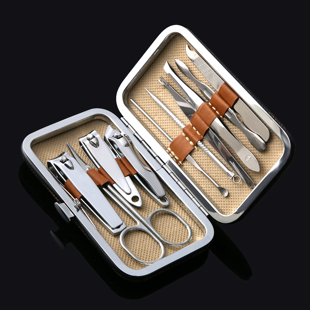 Manicure Pedicure 10 piece set