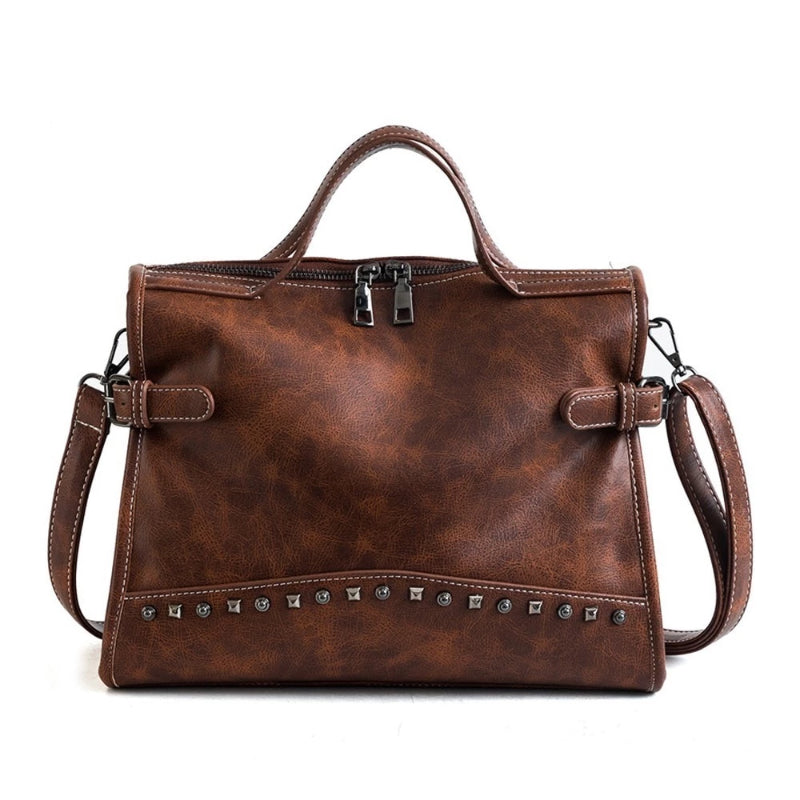Women's Quality Leather Messenger Shoulder Bag