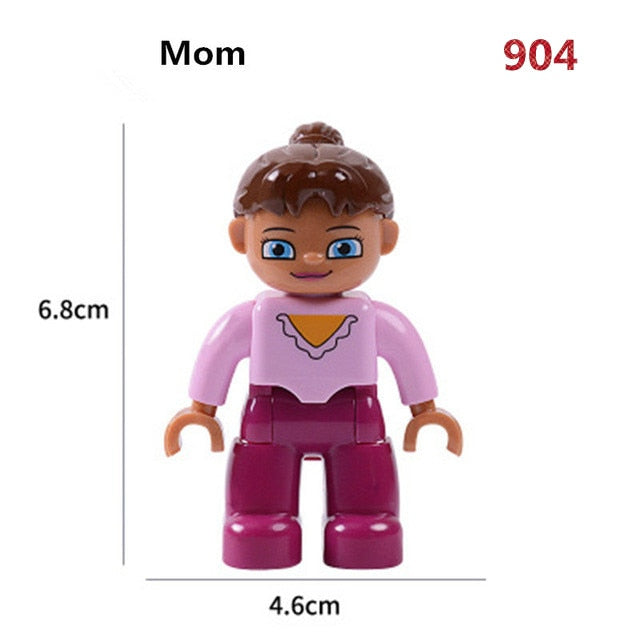 Building Blocks Character Compatible With Lego Figures