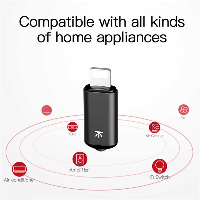 Wireless Universal Device Remote Control iPhone Adapter with APP