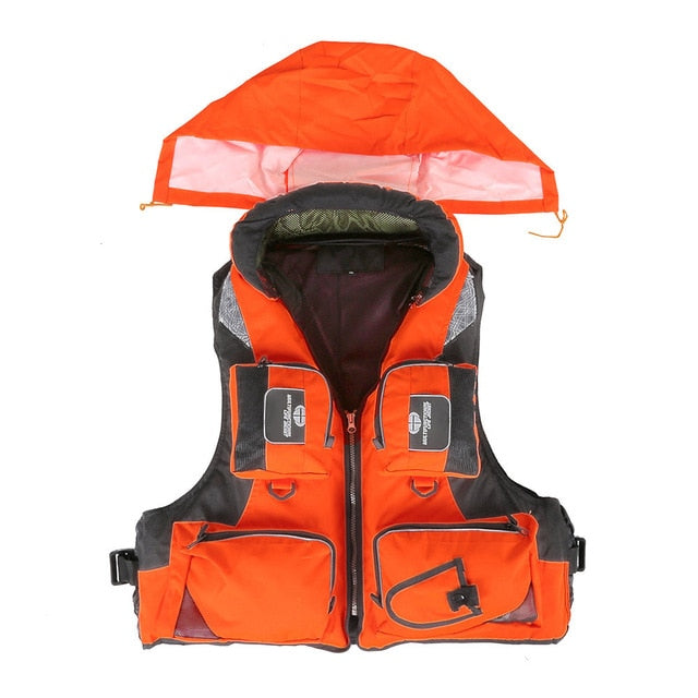 Outdoor Polyester Fisherman's Lifejacket Safety Vest