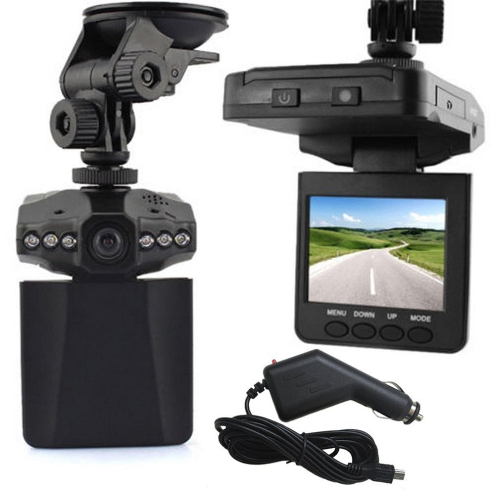 CMOS 2.5 inch HD LED Car Dashboard Camcorder DVR