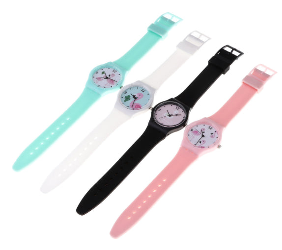 Women's Silicone Fashion Watch