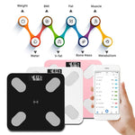 Smart LED Electronic Digital Body Fat Scale with Bluetooth APP