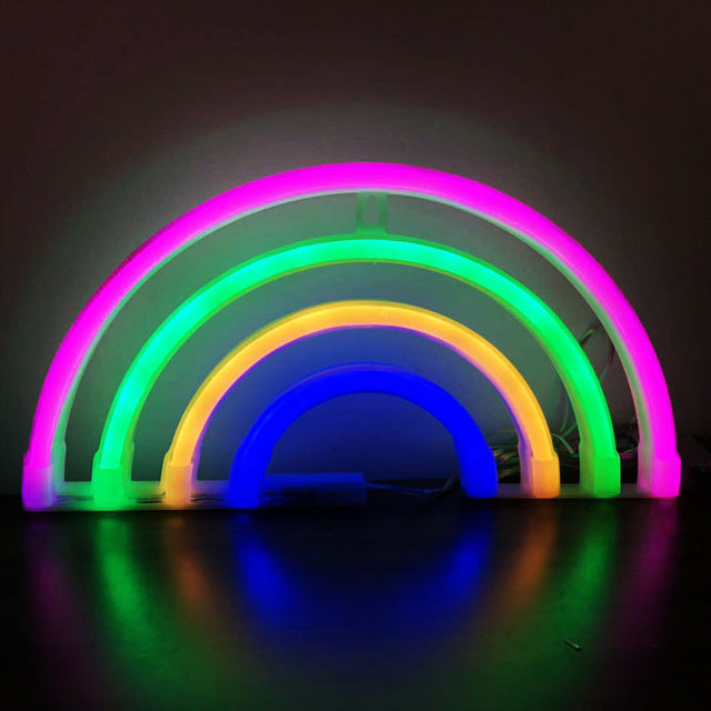 Colorful LED Neon Decorative Light Fixture