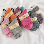 Women's Solid Wool Socks
