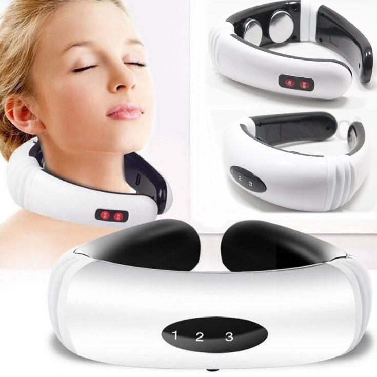 Electric Pulse Heating Pain Relief Neck Massager