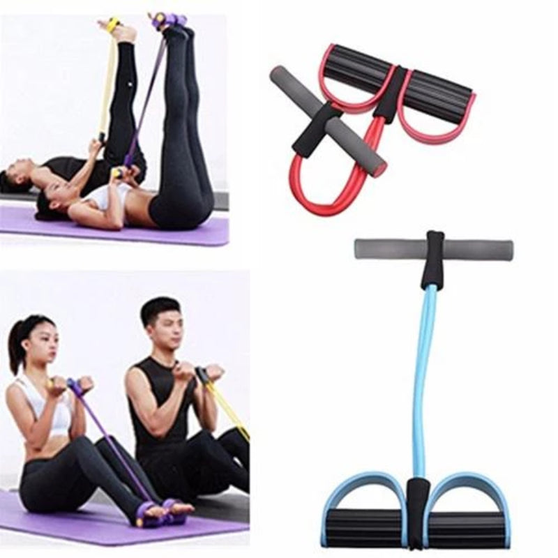 Resistance Band Tummy Training Fitness Equipment
