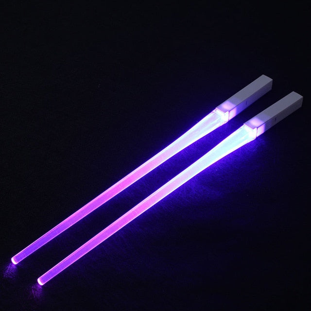 Lightweight Durable LED Lightsaber Chopsticks