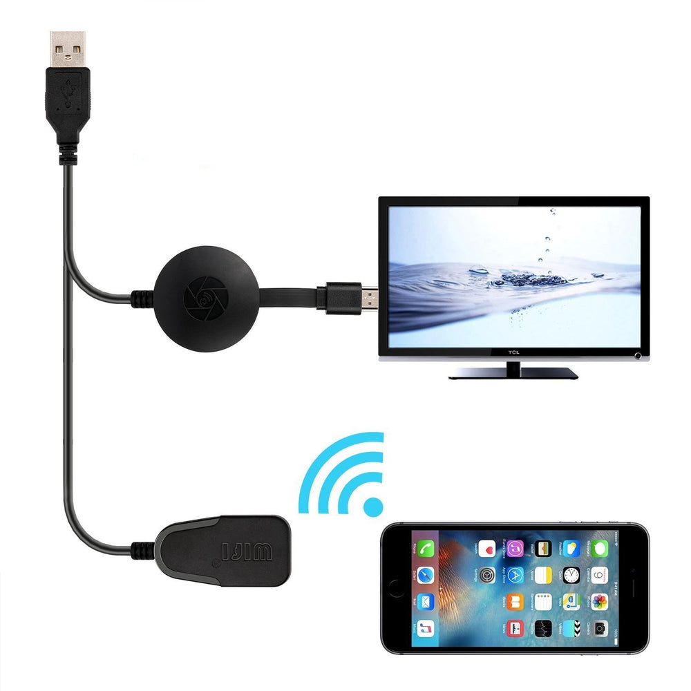 Portable Wireless WiFi 1080P HDMI Display Dongle