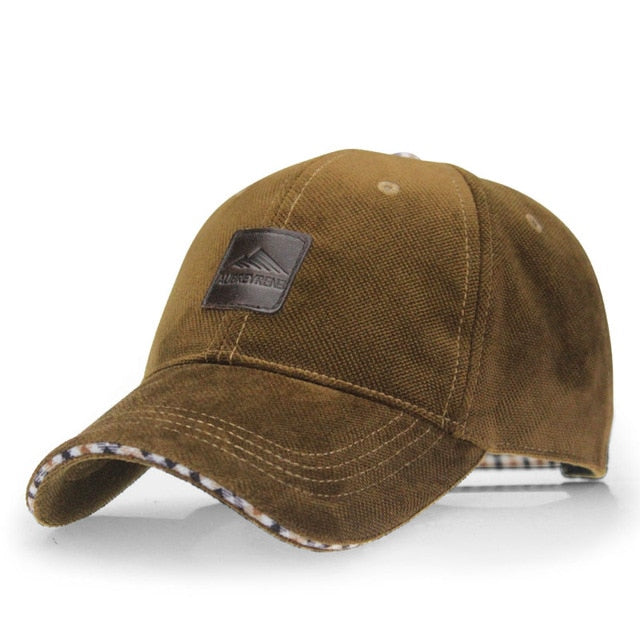Men's Mountaineer Climbers Adjustable Baseball Cap