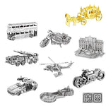 Metal 3D Jigsaw Puzzle DIY Building Kit