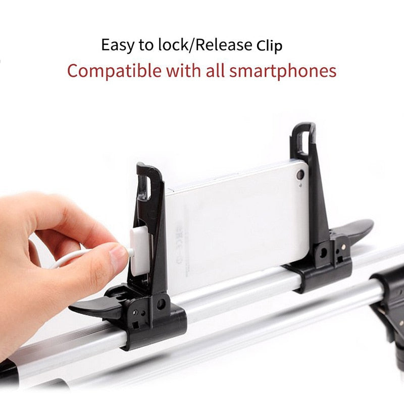 Adjustable Lazy Bed Foldable Smart Device Stand