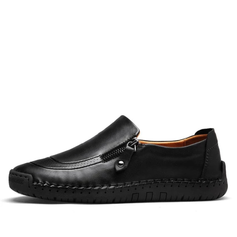 Black Men's Classic Casual Loafer Shoes