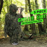 3D Universal Camouflage Ghillie Suit Army Hunting Camping
