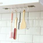 Hanging 6 Hook Kitchen Utensils Storage Organizer