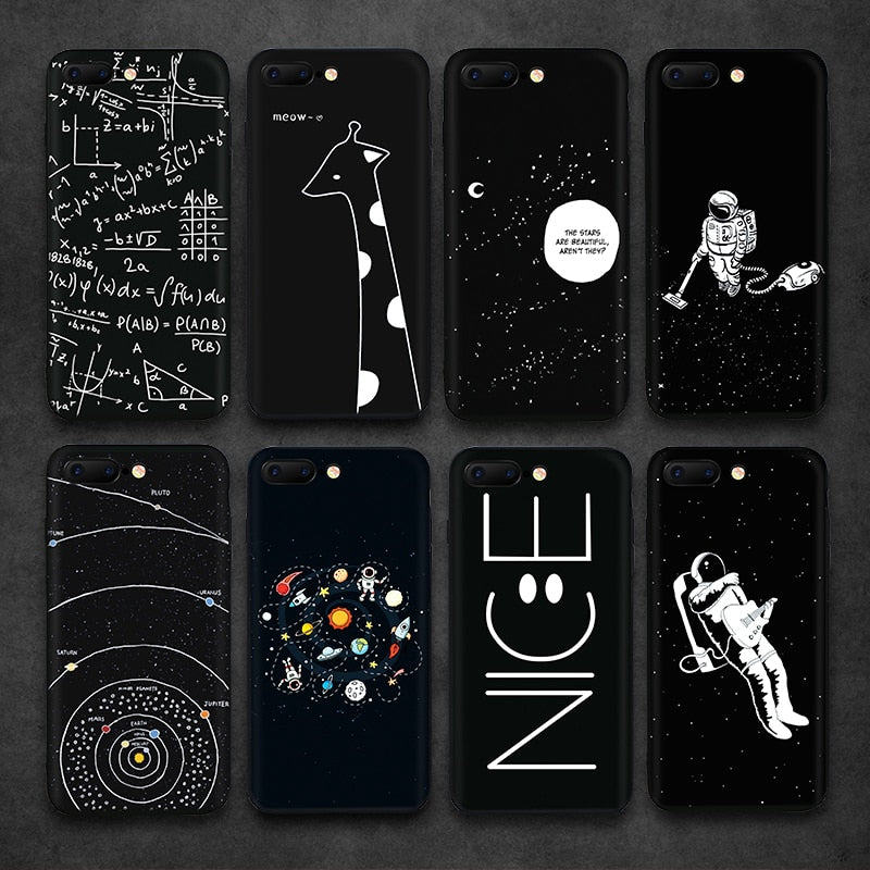 Space Migration TPU Silicone iPhone Case