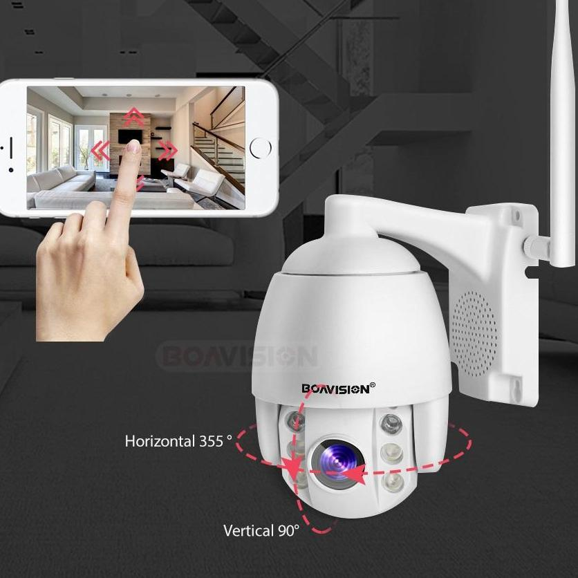 Micro 2.5 Inch Speed Dome WiFi 1080P IP Security Camera