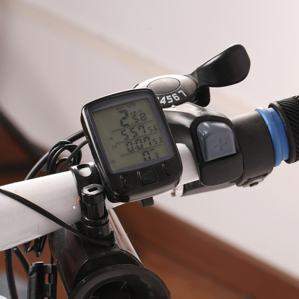 Waterproof Multi-Function LCD Cycling Speedometer