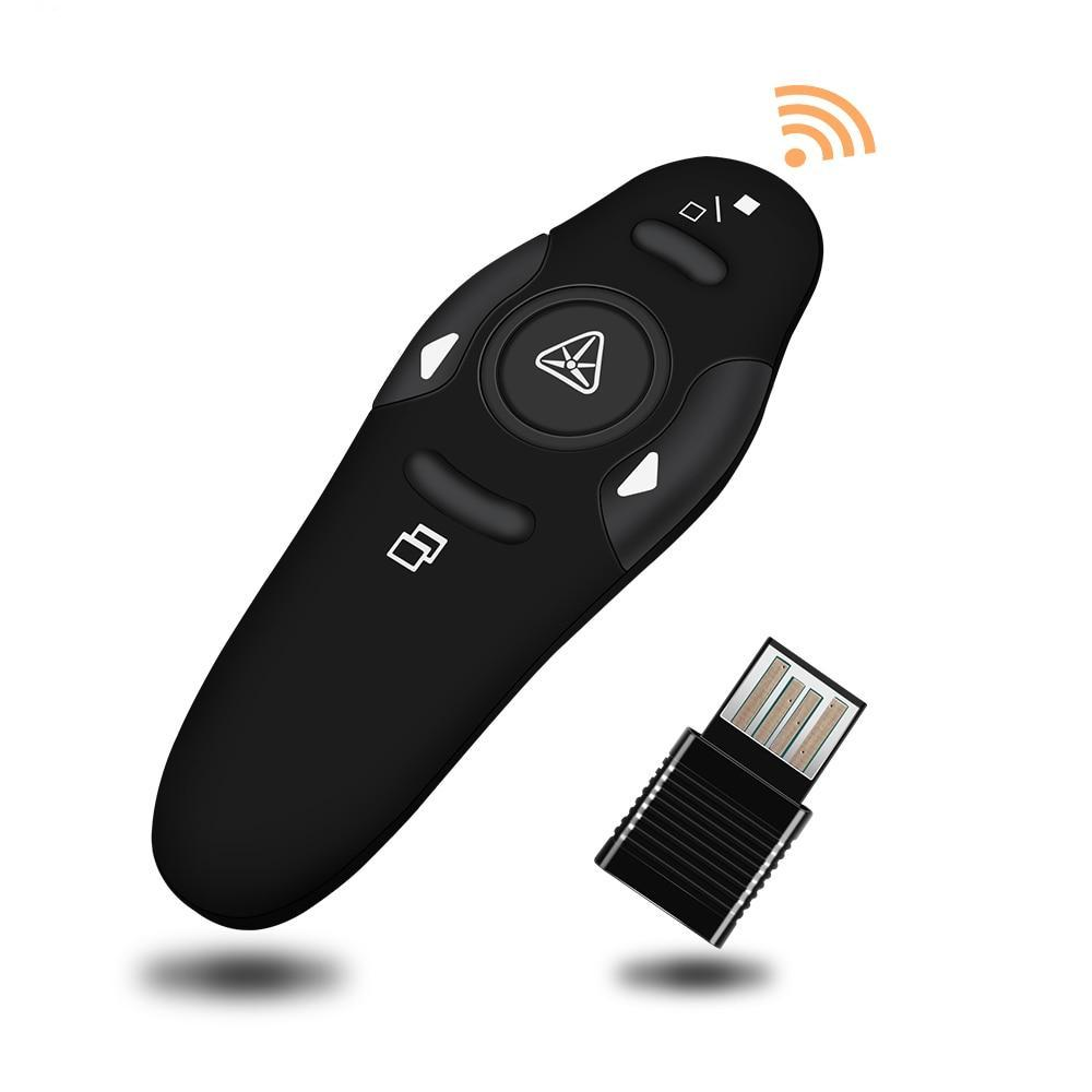 Wireless 2.4Ghz Remote Control Powerpoint Presenter with Laser Pointer