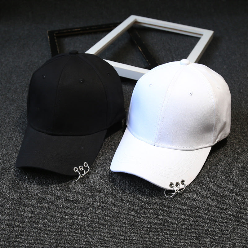 Hot New Fashion Classic Baseball Cap with Keychain Loops