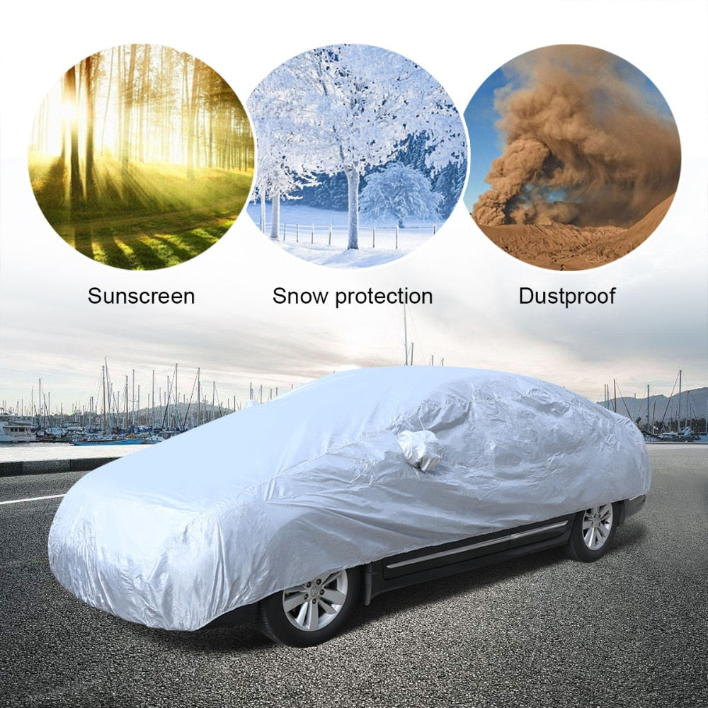 Universal Full Autobody Protective Cover