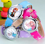 Girl's Elsa & Anna Princess Watches
