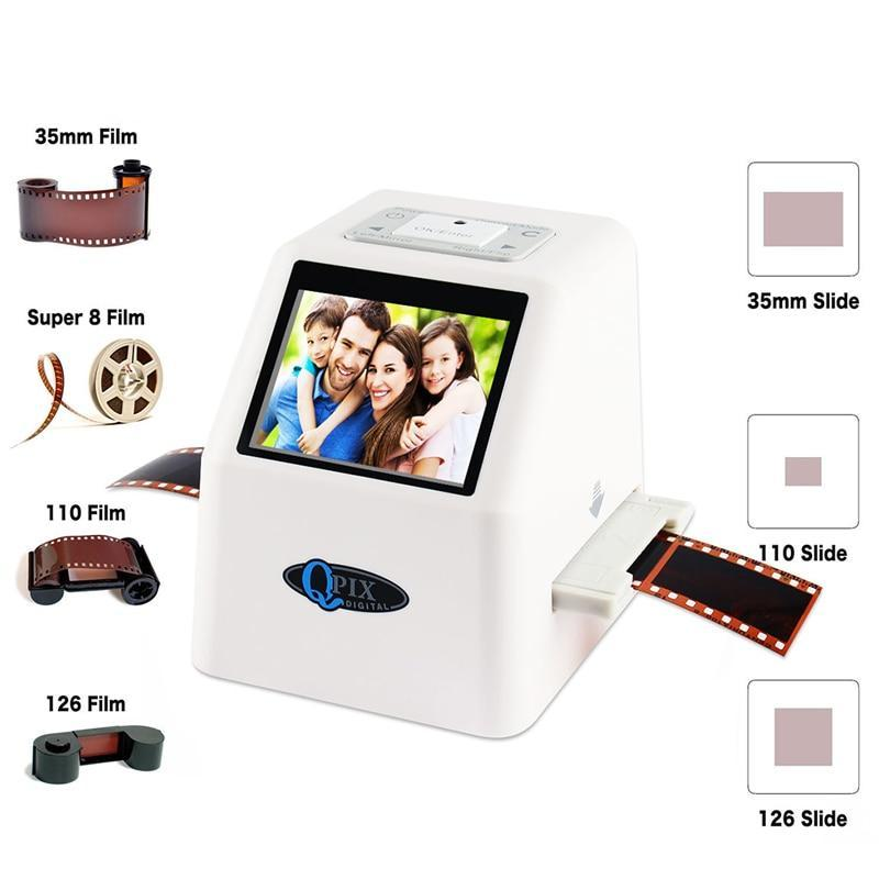 High Resolution 22 MP Super 8 Negative Photo Film Scanner
