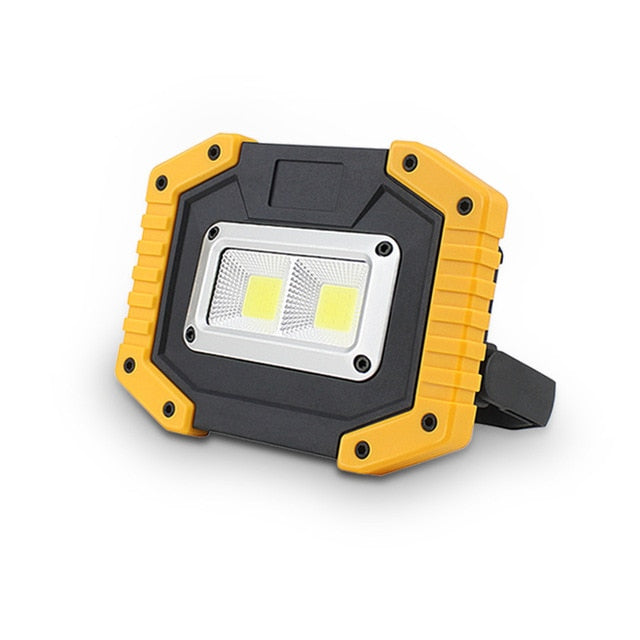 Portable 20W Waterproof COB LED Rechargeable 3-Mode Floodlight