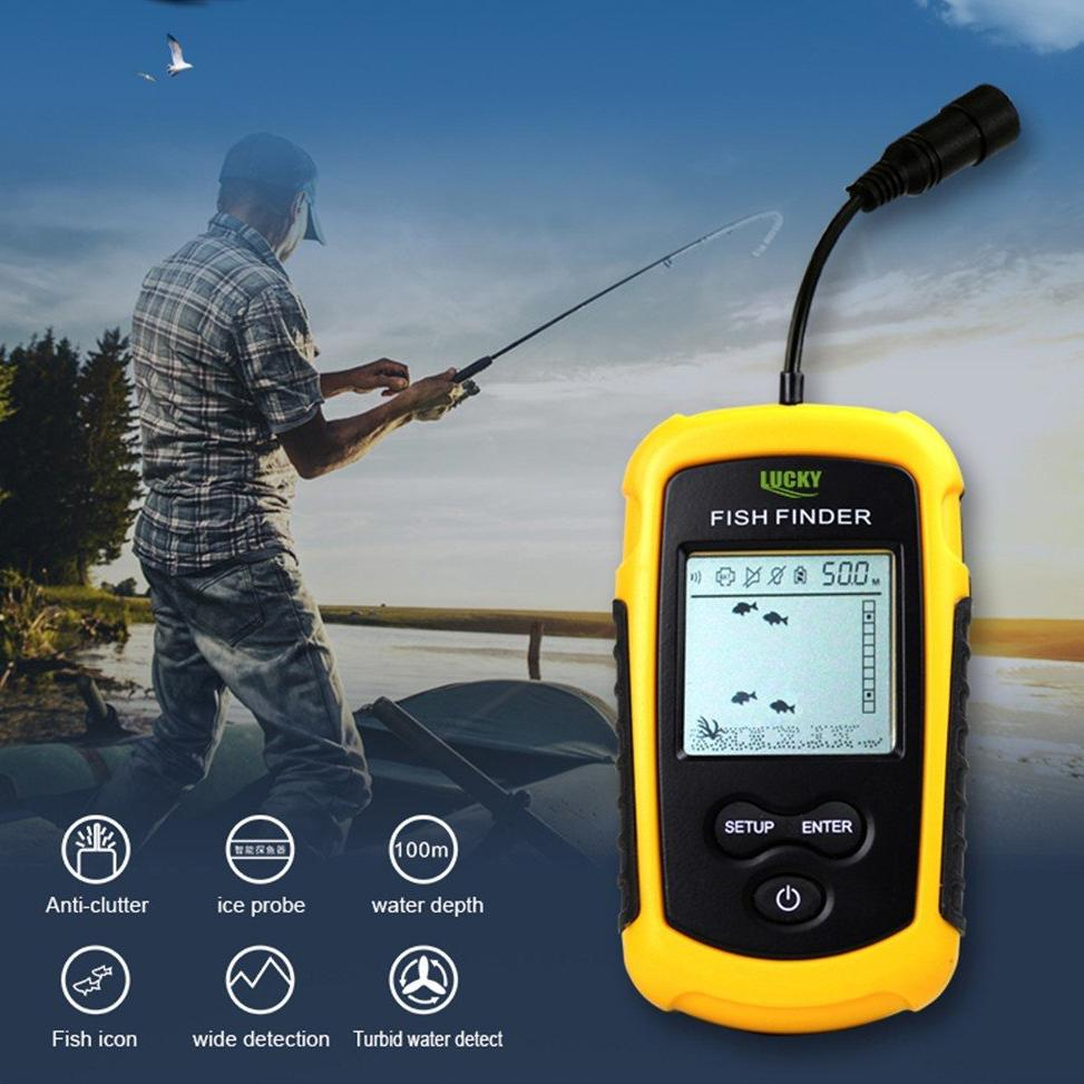 $53.99 (reg $149) Portable Bluetooth Echo-Sonar Fish Finder