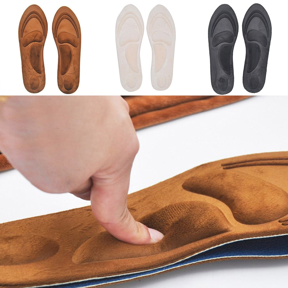4D Orthopedic Memory Foam Arch Support Insoles