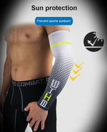 UV Protection Compression Support Sport Arm Sleeves