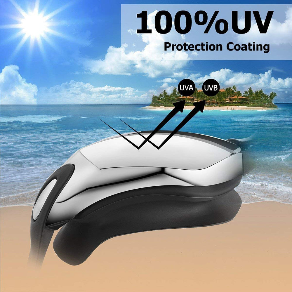 Anti-Fog UV Optical Prescription Swimming Goggles