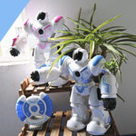Remote Control Robot LED Light Singing Dancing Toy