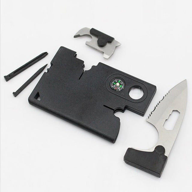 9-in-1 Durable Tactical Pocket Multi-Tool