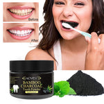 Organic Natural Bamboo Charcoal Coconut Activated Carbon Teeth Whitening Powder