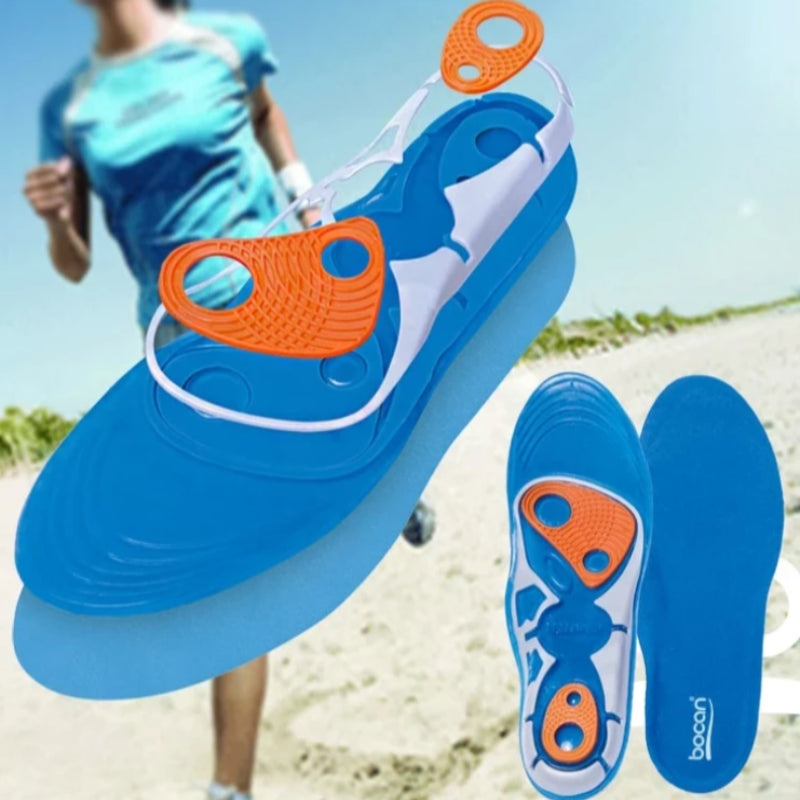 Silicone Shock Absorption Gel Insoles