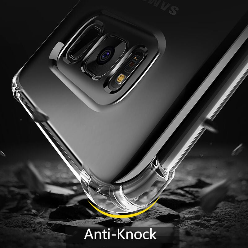 Shockproof Soft Silicone Samsung Phone Case
