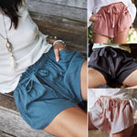Women's Casual High Waist Drawstring Summer Shorts