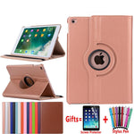 360 Degree Rotating Leather iPad Smart Case