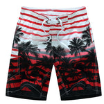 Men's Lined Beach Board Shorts Swimwear
