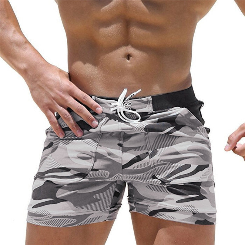 Men's Camo Beach Board Shorts
