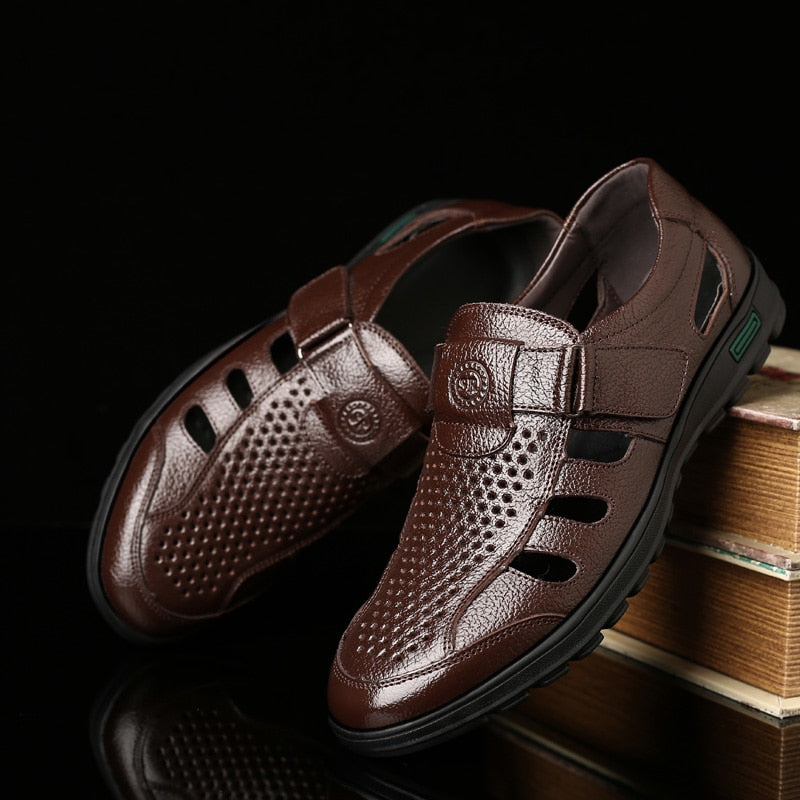 Men's Genuine Leather Breathable Shoes