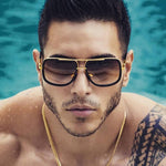 Men's Big Frame Luxury UV400 Fashion Sunglasses