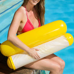 Yellow Outdoor Inflatable Lounge Floating Water Hammock