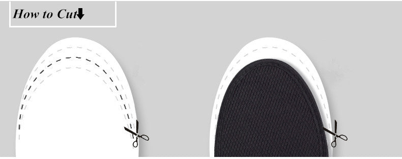 Orthopedic Breathable Deodorizing Athletic Insole Cushions